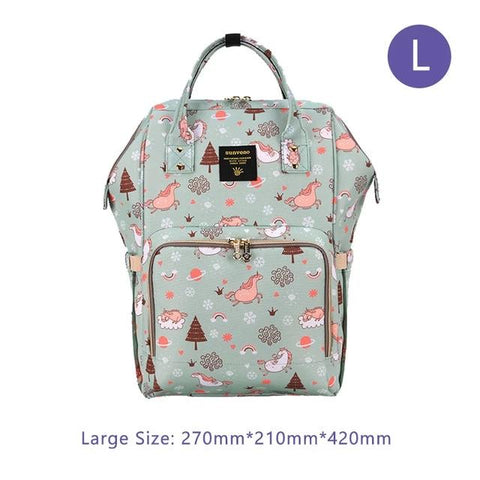 Large Capacity Baby Diaper Backpack