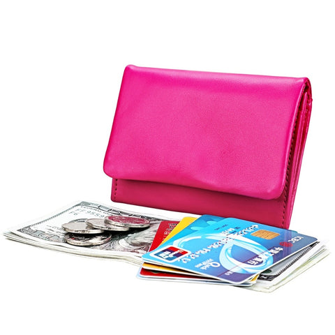 Multi Function Top Quality Women's Leather Wallet