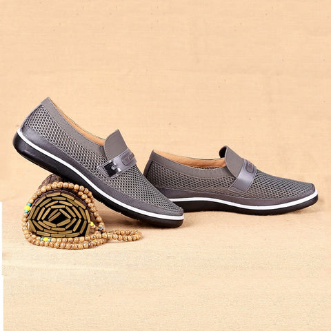 Spring Hollow Solid Anti-Skid Comfortable Breathable Flat Shoes