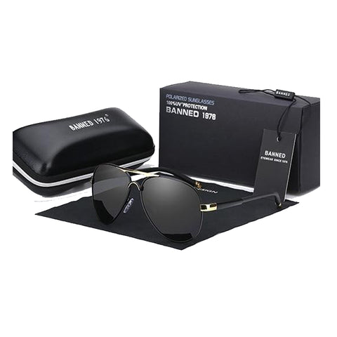 UV Polarized Anti-Reflective Cool Driving Sunglasses