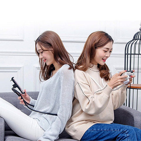 New 360 Degree Rotating Lazy Neck Phone Holder