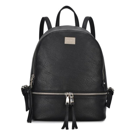 New High Quality PU Leather Shoulder Backpack for Women