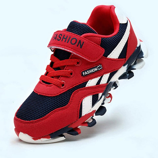 Kids Casual Leather Sport Sneakers