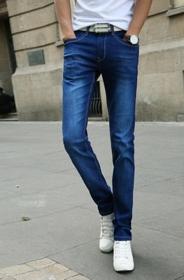 Casual Stretch Skinny Jeans Slim fit Trousers