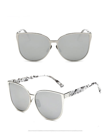 Designer Cat Eye UV Polarized Sunglasses