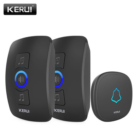 LED Light 32 Songs With Waterproof Touch Button Wireless Doorbell