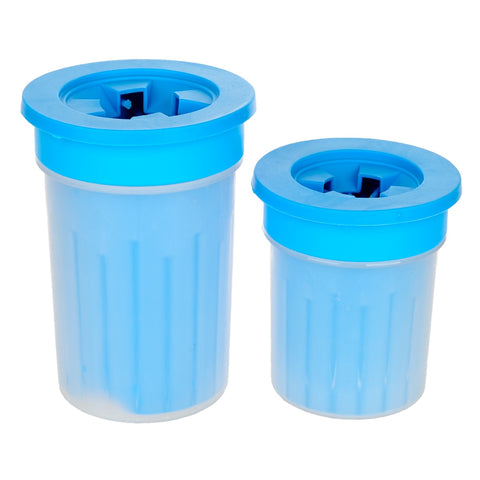 Dog/Cat Paw Cleaning Plastic Tool Cup