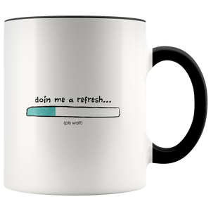 Loading Refresh Accent Mug