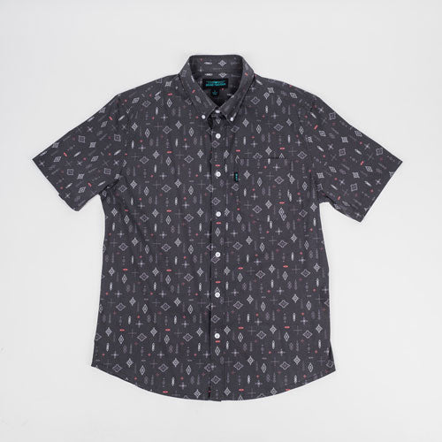 Rickey Casual Short Sleeve Shirt - Twilight - ATHLETIC FIT | B24