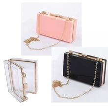 Load image into Gallery viewer, MAID ACRYLIC BOX CLUTCH BAG