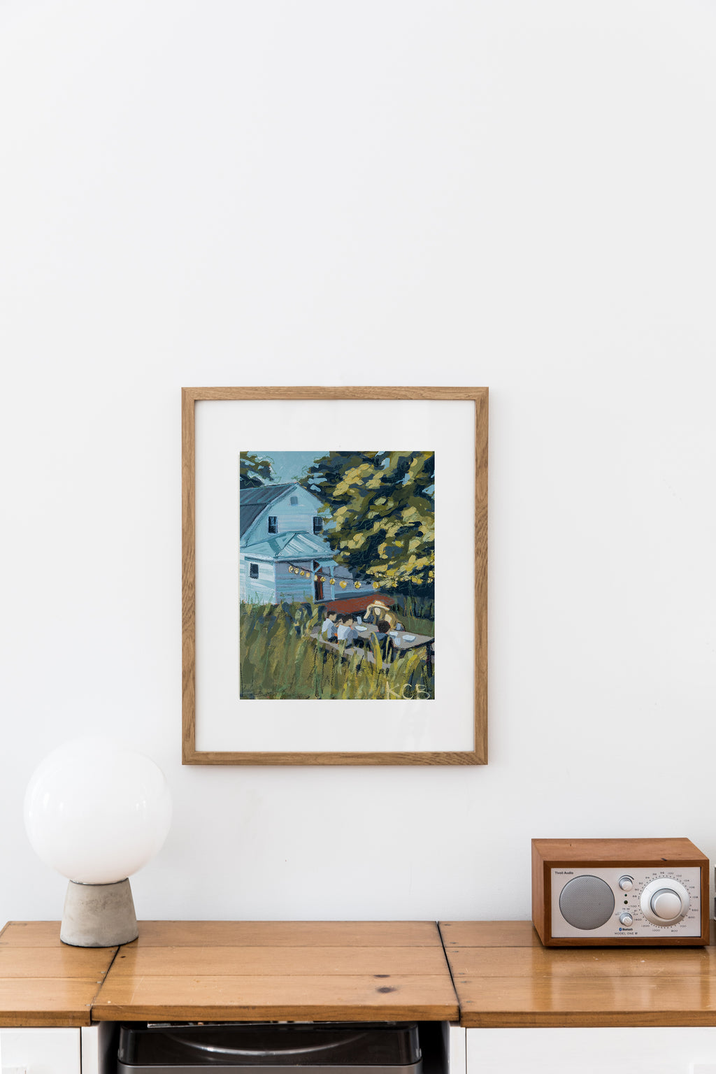 Gather Series Prints - A Simple Evening