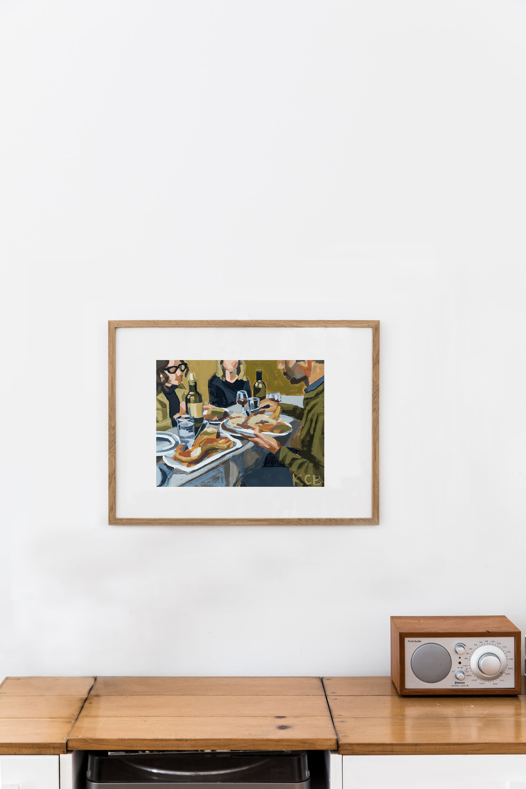 Gather Series Prints - Dinner Served