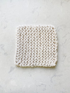 Organic Cotton Knit Pot Holder