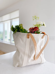 Market Tote - Plain Canvas