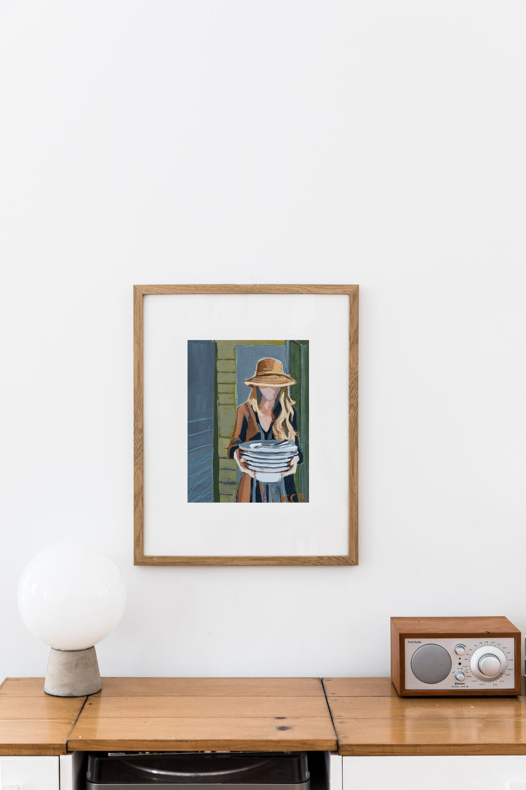 Gather Series Prints - Setting the Table