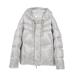 S06-04-026 COCOON DOWN JACKET / Material: CLEAR