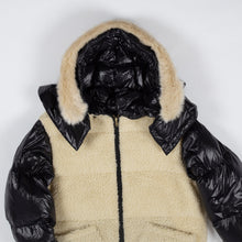 画像をギャラリービューアに読み込む, S06-99-FC001 REVERSIBLE BOA DOWN COAT /Collaboration with M Michiko Nakayama
