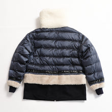 画像をギャラリービューアに読み込む, S06-99-009 BOA DOWN JACKET /Collaboration with M Michiko Nakayama