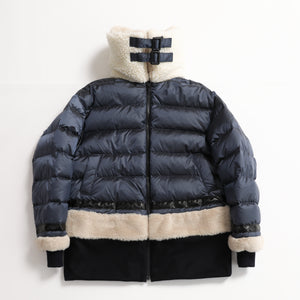 S06-99-009 BOA DOWN JACKET /Collaboration with M Michiko Nakayama