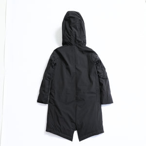 S06-01-002 MOD'S DOWN COAT / Material: TRAVELUX