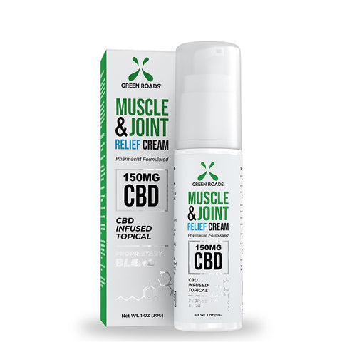 150-MG Natural Hemp CBD Muscle & Joint Cream - btn-hemp