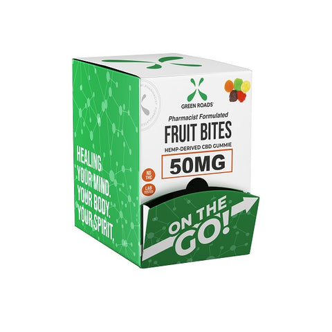 50-MG On The Go Natural Hemp CBD Fruit Bites (Box of 30) - btn-hemp