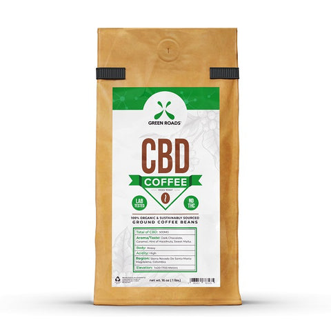 CBD Coffee – 16.00 oz. Bag - Back to Nature CBD & More...