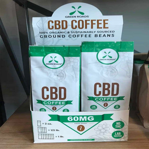 CBD Coffee – 2.00 oz. Bags (Box of 8) - Back to Nature CBD & More...