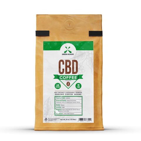 CBD Coffee – 8.00 oz. Bag - Back to Nature CBD & More...
