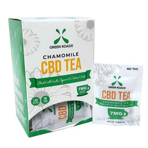 CBD Chamomile Tea – 7MG Bag (Box of 20) - Back to Nature CBD & More...