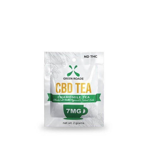 CBD Chamomile Tea – 7MG Bag - Back to Nature CBD & More...