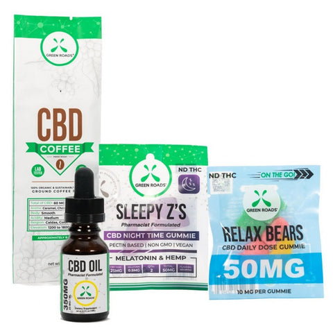 Beginner's CBD Relax Bundle - Back to Nature CBD & More...
