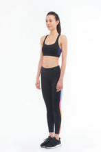Load image into Gallery viewer, THE EYE CANDY Leggings (Colourfully Black)