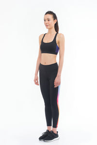 THE EYE CANDY Leggings (Colourfully Black)