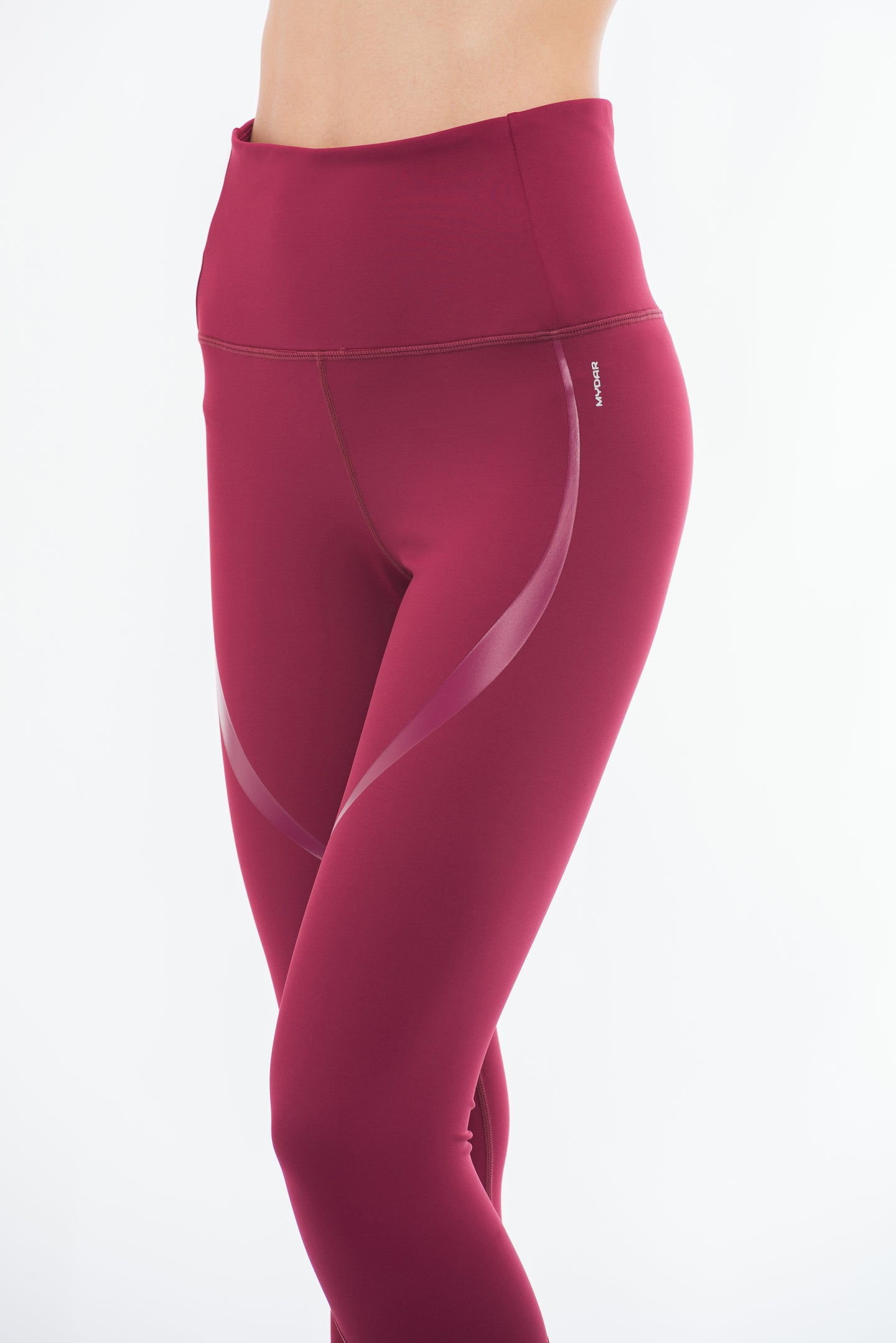 THE CURVY BOSS Leggings (Burgundy)