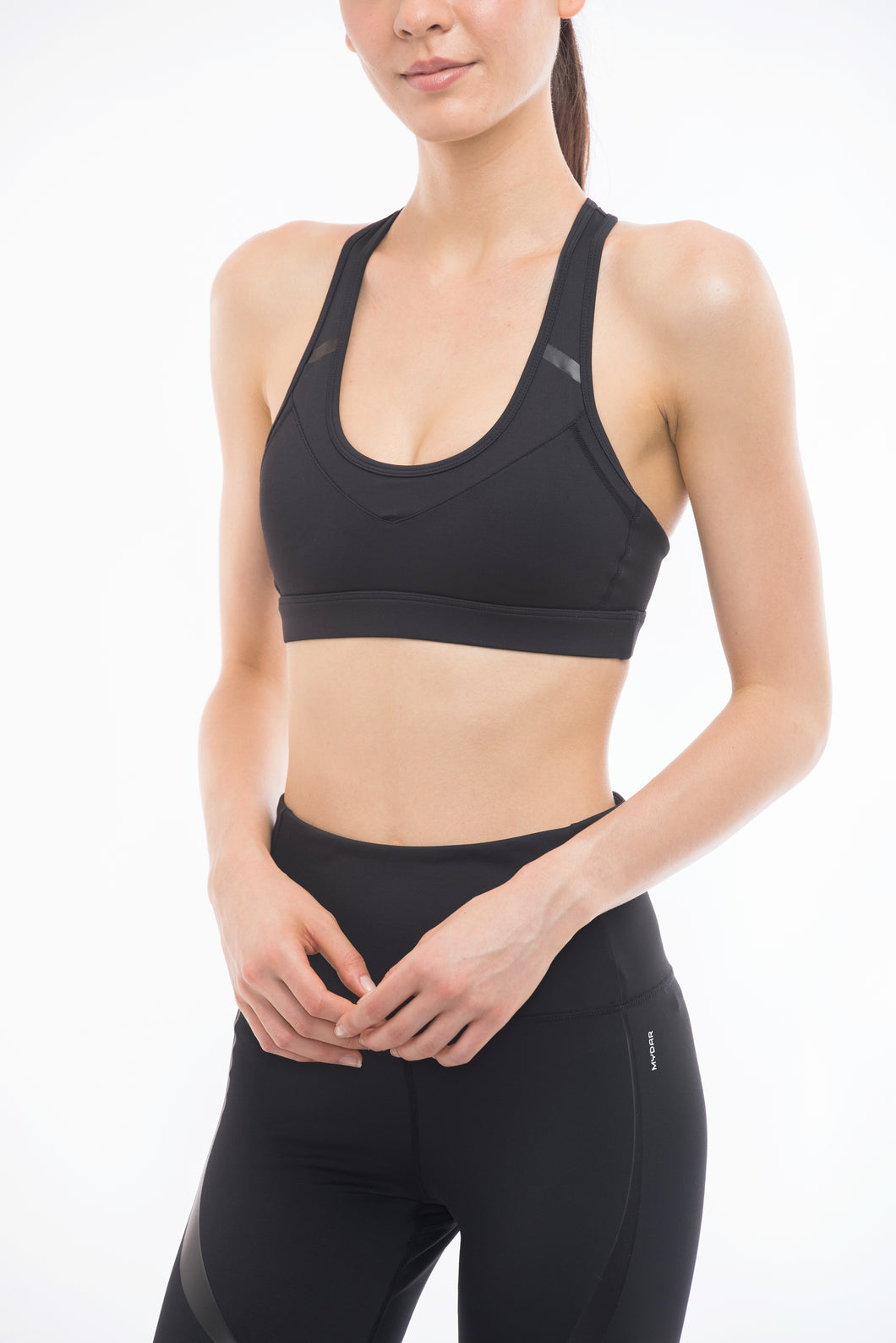 CURVE SPORTS BRA (BLACK)