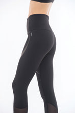 Load image into Gallery viewer, CURVE LEGGINGS (BLACK)
