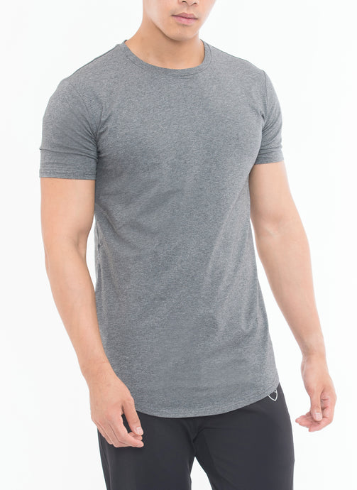 THE MUSCULAR AF Short Sleeves (Grey)