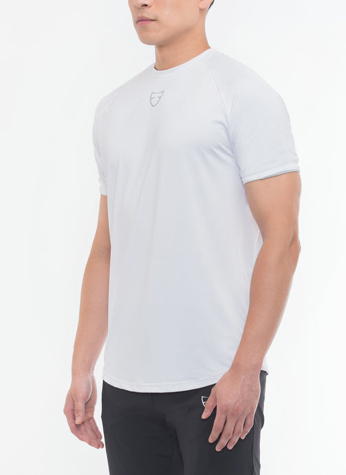 THE BODY SHAPER Short Sleeves (White)