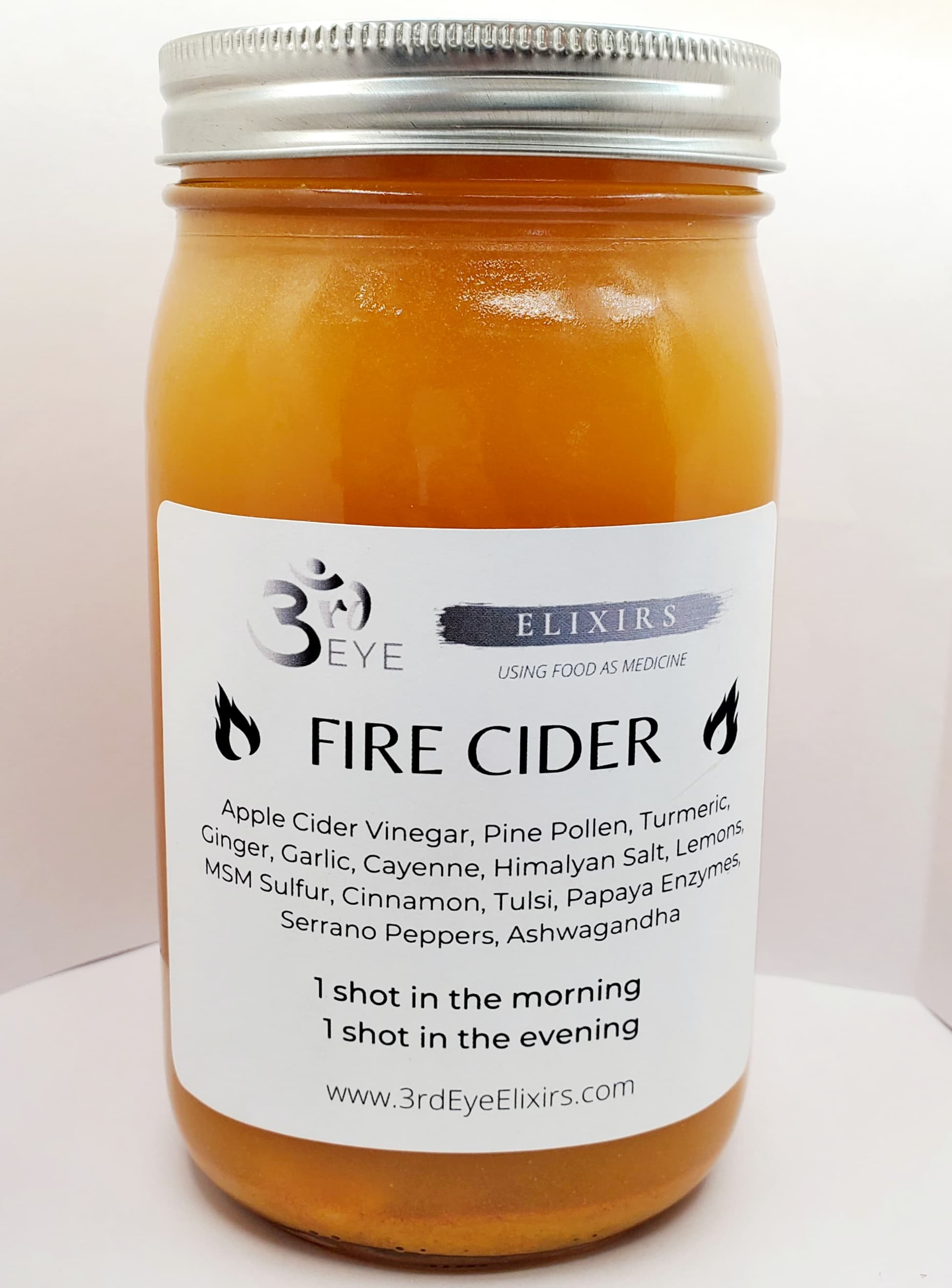 3rd Eye Probiotic Fire Cider - 3rd Eye Cacao Elixir