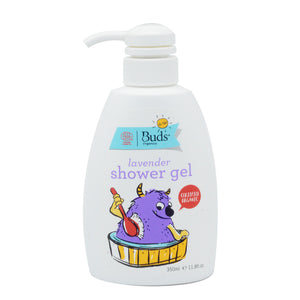 BUDS FOR KIDS LAVENDER SHOWER GEL 350ML (BTL)