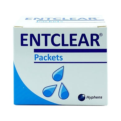 ENTCLEAR NASAL WASH SALT PACKETS (20S - BOX) - Wellings Online Store