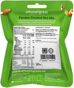 AMAZIN' GRAZE PANDAN COCONUT NUT MIX 30G (PACK)
