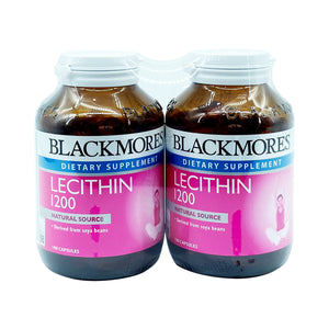 BLACKMORES LECITHIN 1200MG (2*100S) - Wellings Online Store