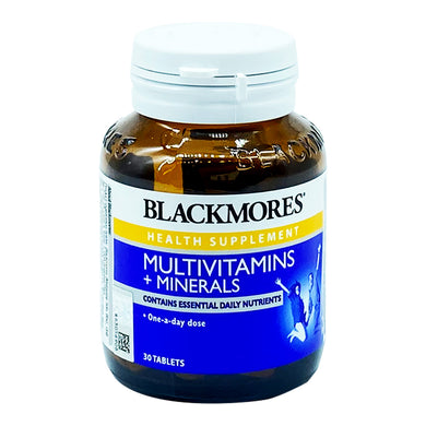 BLACKMORES MULTIVITAMIN+MINERAL (30S - BTL) - Wellings Online Store