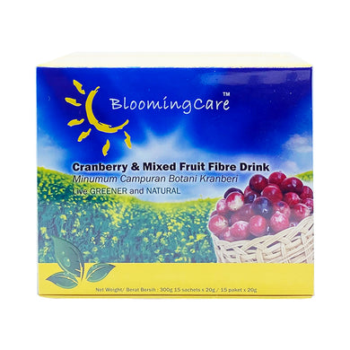 BLOOMINGCARE CRANBERRY & MIXED 20GM (15S - BOX) - Wellings Online Store