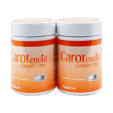 MEGALIVE CAROTENOID COMP PLUS (2*30S) - Wellings Online Store