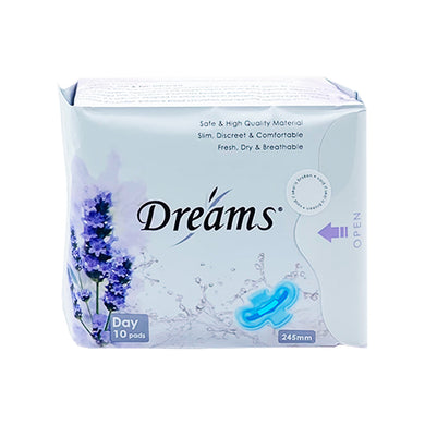 DREAMS PADS DAY 245MM (10S - PACK) - Wellings Online Store