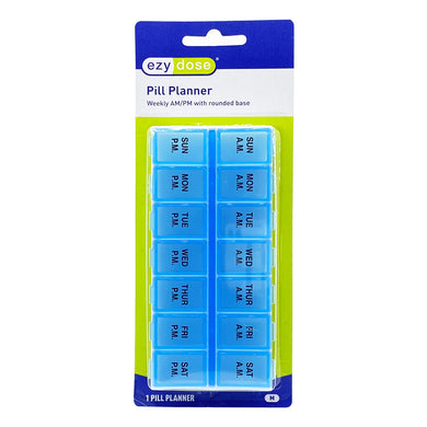 EZY DOSE WEEKLY AM-PM PILL PLANNER (UNIT) - Wellings Online Store