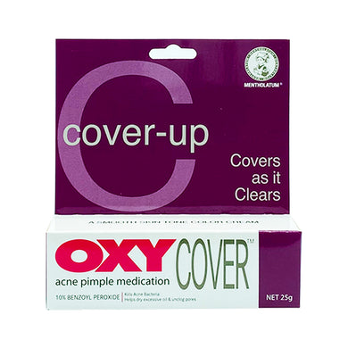 OXY 10 COVER CREAM 25G (TUBE) - Wellings Online Store
